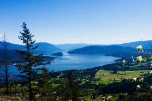 Image 9 Views over Shuswap Lake, Copper Island, and the Shuswap highlands from the summit at Mount Baldy