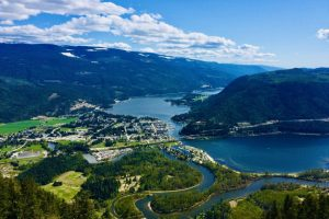 Image 9 Views over Sicamous, Shuswap Lake, and The Eagle River from Sicamous Lookout